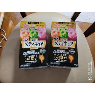 【箱だし送付】バブ薬用 メディキュア 3種の香り 30錠