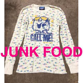 ジャンクフード(JUNK FOOD)のJUNK FOOD ワッフル Tシャツ ロンT(Tシャツ(長袖/七分))
