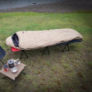 ナンガ(NANGA)のオーロラ600DX ロング日本製シュラフ(NANGA/ナンガ) オールベージ(寝袋/寝具)