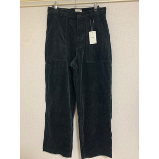 1LDK SELECT - EVCON CORDUROY WIDE PANTS