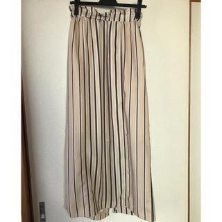 シップス(SHIPS)の夏用  ストライプスカート(ロングスカート)