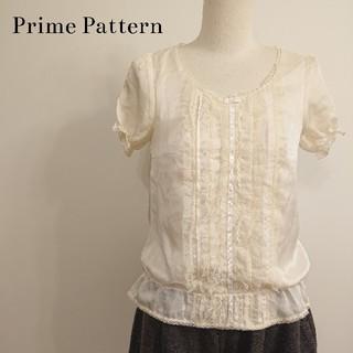 プライムパターン(PRIME PATTERN)の♡Prime Pattern♡パフスリ半袖ブラウス♡(シャツ/ブラウス(半袖/袖なし))