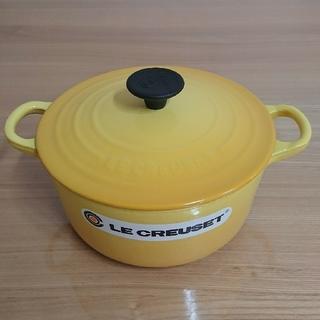 ルクルーゼ(LE CREUSET)の新品未使用品 ル・クルーゼ ココット ロンド 18cm(鍋/フライパン)