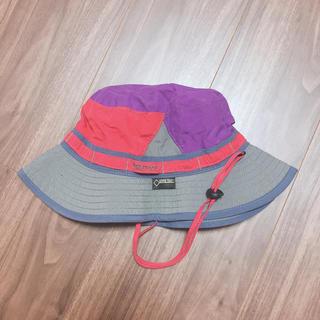 マーモット(MARMOT)のMarmot 帽子 パープル ピンク Mサイズ(登山用品)
