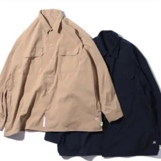 ビームス(BEAMS)のAH.H×SSZ WORK SHIRT NAVY (シャツ)