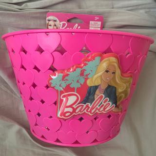 バービー(Barbie)のバービー 自転車 カゴ(キャラクターグッズ)