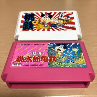 ファミリーコンピュータ(ファミリーコンピュータ)の桃太郎電鉄セット(家庭用ゲームソフト)