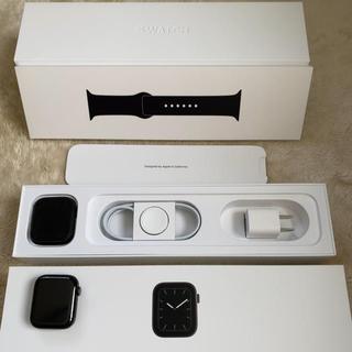 アップルウォッチ(Apple Watch)の【通電のみの新品】Apple Watch Series5 44mm ステンレス(その他)