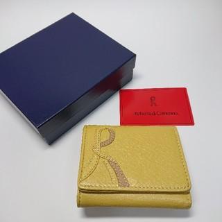 ロベルタディカメリーノ(ROBERTA DI CAMERINO)の【新品未使用】ロベルタディカメリーノ 三つ折り財布(財布)