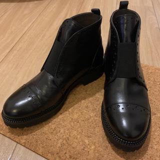 ローズバッド(ROSE BUD)の【ROSE BUD】レディース フロントゴアブーツ 23cm(ブーツ)