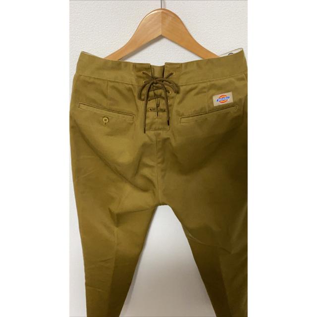 holiday(ホリデイ)のHOLIDAY×DICKIES HIGH WAIST LACE UP PANTS レディースのパンツ(カジュアルパンツ)の商品写真