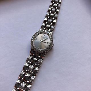 ピアジェ(PIAGET)のPIAGET 純正ダイヤ レディース腕時計(腕時計)