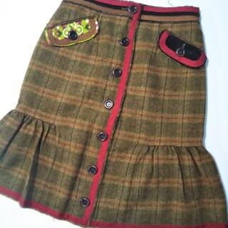 モスキーノ(MOSCHINO)のMOSCHINO スカート(ひざ丈スカート)