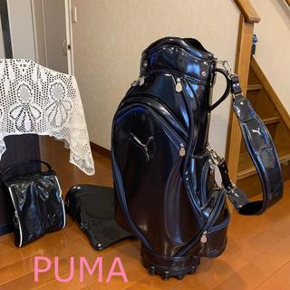 プーマ(PUMA)の豪華レディースゴルフバッグセット🐆「PUMA」キャディバッグ&シューズバッグ(バッグ)