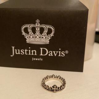 ジャスティンデイビス(Justin Davis)のジャスティン デイヴィス CORONATION リング(リング(指輪))