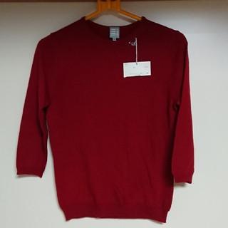 コムサイズム(COMME CA ISM)のコムサ 七分袖 ニット(ニット/セーター)