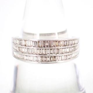 K18WG ダイヤモンド リング17号 [g303-1](リング(指輪))