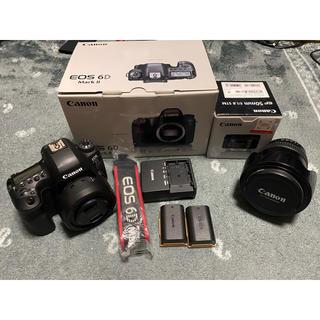 Canon - 6D MARK2+EF24-105L IS とEF50mm f1.8セット