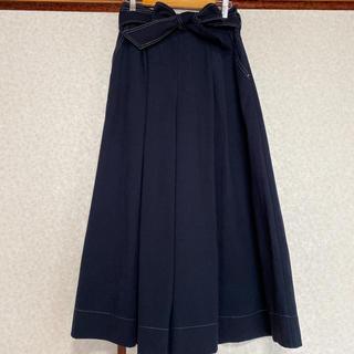 ビームス(BEAMS)の【ビームスハート】ウエストリボンスカートパンツ(カジュアルパンツ)