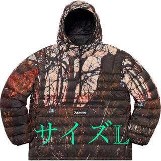 シュプリーム(Supreme)のsupreme Micro Down Hooded Pullover L(ダウンジャケット)