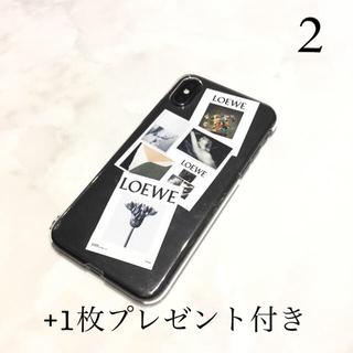 2 LOEWE iPhoneケース スマホ ステッカー タグ