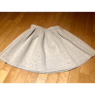エムエスジイエム(MSGM)のMSGM ボックススカート(ひざ丈スカート)