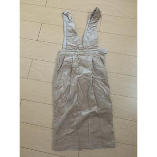 リエンダ(rienda)のジャンパースカート(ひざ丈スカート)