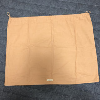 ミュウミュウ(miumiu)のミュウミュウ 布の袋(ショップ袋)