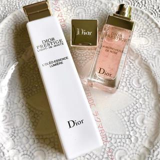 Dior - 【お試し2製品】ユイルドローズ プレステージホワイト オレオエッセンスローション
