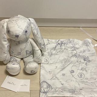 ベビーディオール(baby Dior)のbaby Dior ぬいぐるみ バニー(ぬいぐるみ/人形)
