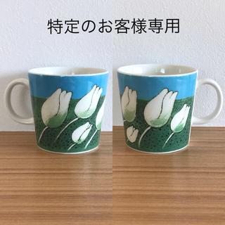 "ARABIA - 【廃盤】ARABIA ヘルヤ お花マグカップ ""Aina kaunis"""