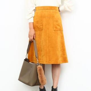 ROPE - 【ROPE】スエード台形スカート