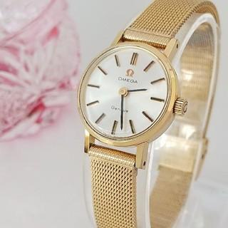 OMEGA - ⭐OH済 綺麗 オメガ メッシュベルト 腕時計 レディースウォッチ 着物 極美品