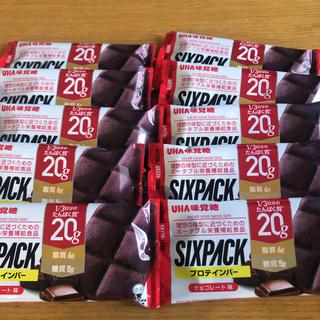 UHA味覚糖 - UHA味覚糖 プロテインバー SIXPACK チョコレート味