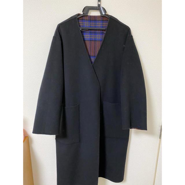 HARE(ハレ)の【限定】HARE リバーシブルノーカラーコート メンズのジャケット/アウター(その他)の商品写真