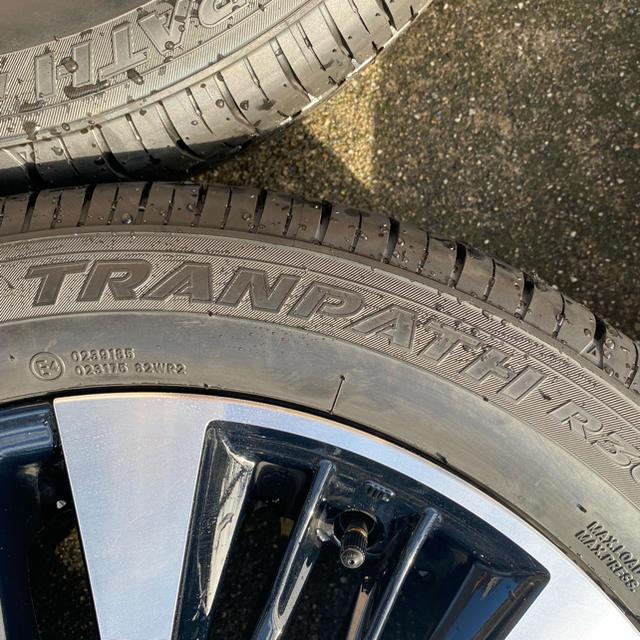 トヨタ(トヨタ)のトヨタ アルファード ヴェルファイア 純正 ホイール タイヤ  自動車/バイクの自動車(タイヤ・ホイールセット)の商品写真