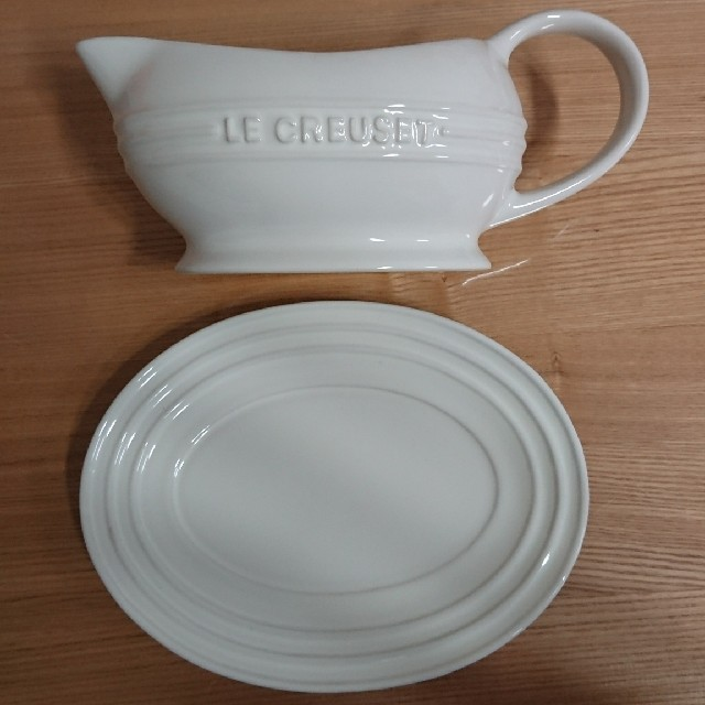 LE CREUSET(ルクルーゼ)のル・クルーゼ グレービー ボート  インテリア/住まい/日用品のキッチン/食器(食器)の商品写真
