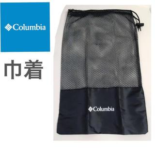 コロンビア(Columbia)の新品 Columbia ロゴ 巾着 ポーチ メッシュ ブラック コロンビア(登山用品)