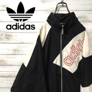 adidas - 激レア 90s アディダス ナイロンジャケット 刺繍 ビンテージ