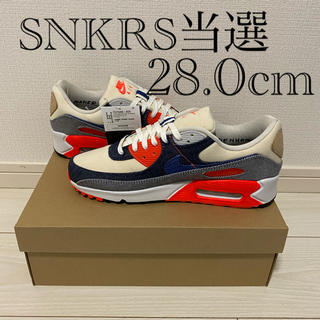 "ナイキ(NIKE)のDENHAM × NIKE AIR MAX 90 ""INFRARED""(スニーカー)"