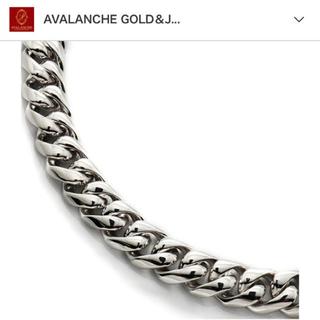アヴァランチ(AVALANCHE)の値下げ中!アヴァランチ avalanche シルバーネックレス45cm×9mm(ネックレス)