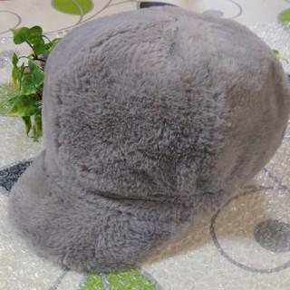セシルマクビー(CECIL McBEE)のセシルマクビー/ボアキャスケット/帽子/Free/未使用に近い(キャスケット)