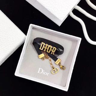 Dior - クリスチャンディオール  dior  チョーカー ネックレス