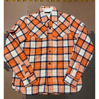 A BATHING APE - Ape チェックネルシャツ Mサイズ