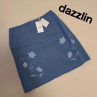 ダズリン(dazzlin)のダズリン♡刺繍台形スカート♡新品(ミニスカート)