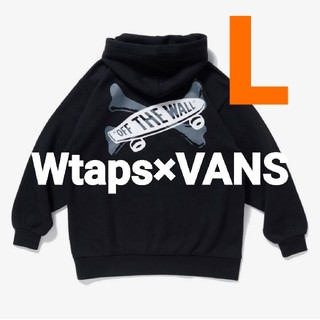 W)taps - Wtaps×VANS☆Pullover Hoodie Lパーカーダブルタップス