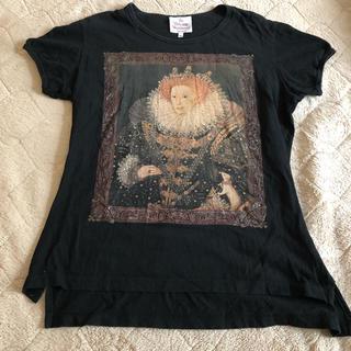 Vivienne Westwood - vivienne westwood エリザベス 黒 半袖 シャツ