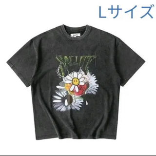 Balenciaga - SALUTE WASHEDFLOWER VINTAGE T-SHIRT サルーテ