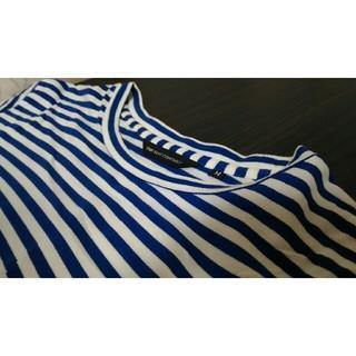 スーツカンパニー(THE SUIT COMPANY)のTHE SUIT COMPANY ボーダーレスTシャツ ホワイト(Tシャツ/カットソー(半袖/袖なし))