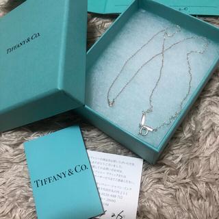 Tiffany & Co. - ティファニーネックレス バイザヤード